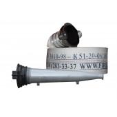 Рукава  крановые - Рукав кран Ø51 с гайками ГР-50 и стволом РС 50 КМБ