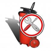 Перезарядка огнетушителей - Техническое обслуживание ОП-100