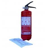 Порошковые огнетушители - Огнетушитель автомобильный ОП-1