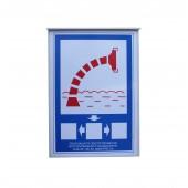 Знаки пожарной безопасности - Пожарный водоисточник