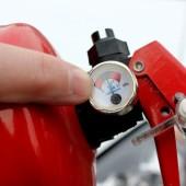 Перезарядка огнетушителей - Замена манометра (индикатора давления)
