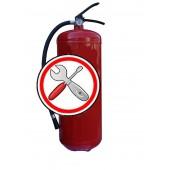 Перезарядка огнетушителей - Техническое обслуживание ОП-9