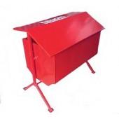 Металлические стенды, ящики для песка - Ящик для песка опрокидывающийся