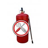 Перезарядка огнетушителей - Замена шланга (раструба) к ОП