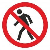 Запрещающие знаки - Вход (проход) воспрещен